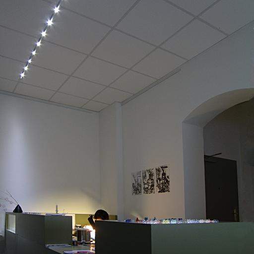 inlicht dresden led beleuchtung empfang rezeption kundenb ro kundencenter. Black Bedroom Furniture Sets. Home Design Ideas